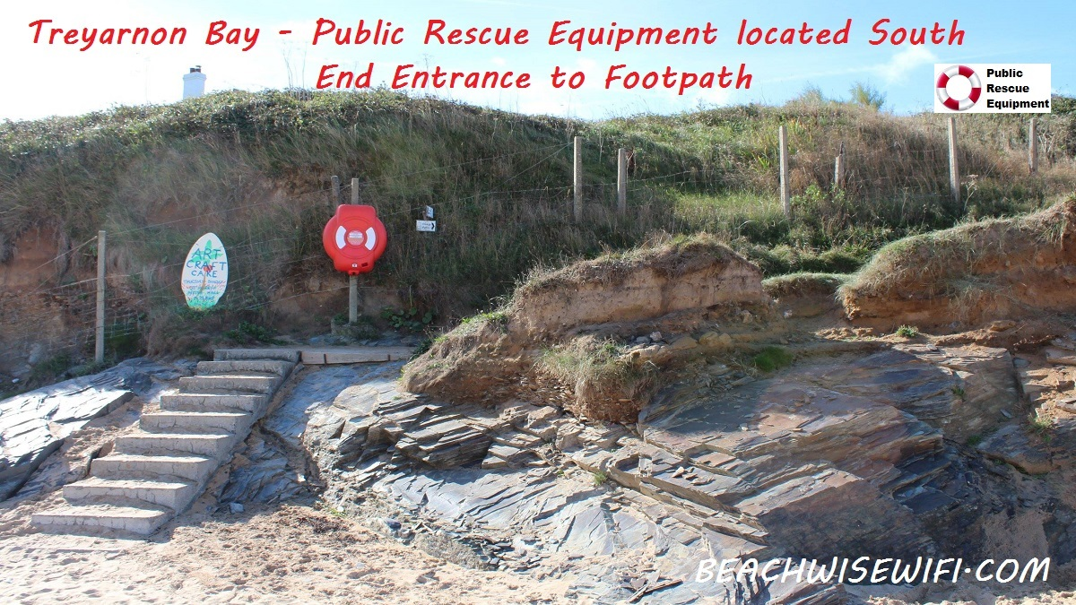 Treyarnon-Life-Ring-Located-top-of-the-beach-Southern-end-entrance-to-footpath